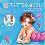 Cartea mea cu tatuaje si modele romantice de colorat, editura Prut