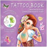 Cartea mea cu tatuaje si modele fantastice de colorat, editura Prut