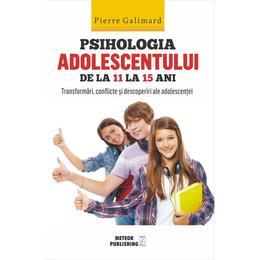 Psihologia adolescentului de la 11 la 15 ani - Pierre Galimard, editura Meteor Press