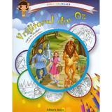 Vrajitorul din Oz: carte de colorat + poveste. Carla coloreaza, editura Astro