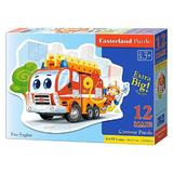 Puzzle 12 Maxi - Fire Engine