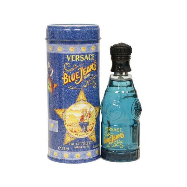 Apa de Toaleta Versace Blue Jeans, Barbati, 75ml poza