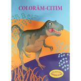Coloram-citim: Tiranozaur. Dinozauri, editura Biblion