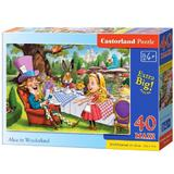Puzzle 40 Maxi. Alice in Wonderland