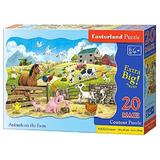 Puzzle 20 Maxi. Animals on the farm