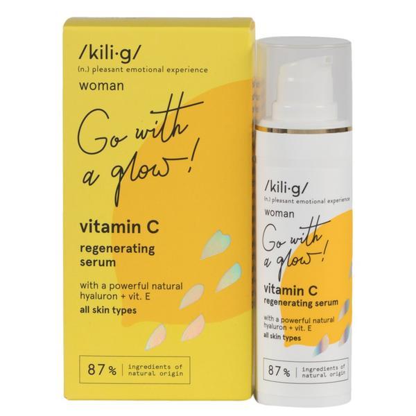 Serum Regenerant cu Vitamina C Kilig, 30ml