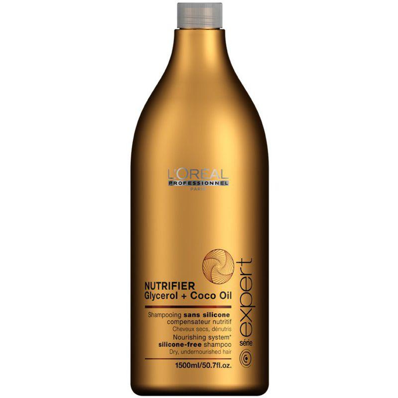 Sampon Nutritiv - L'oreal Professionnel Nutrifier Shampoo 1500 ml imagine