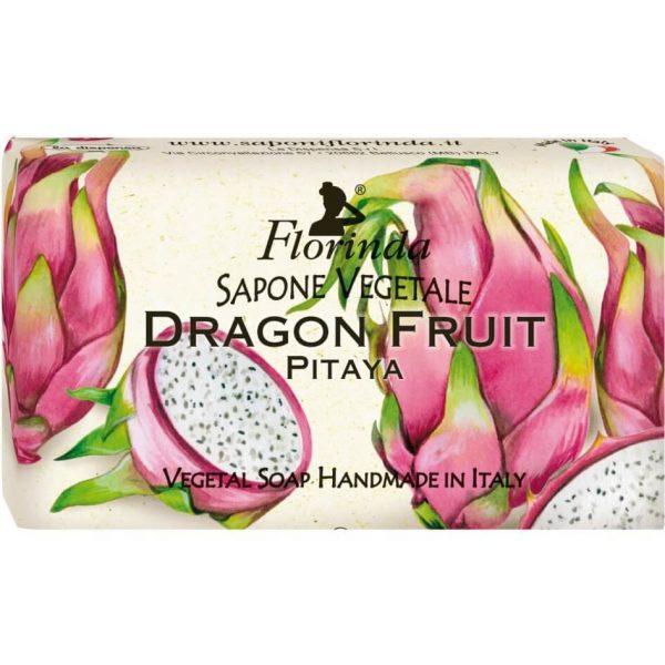 Sapun Vegetal cu Fructul Dragonului Florinda La Dispensa, 100 g poza
