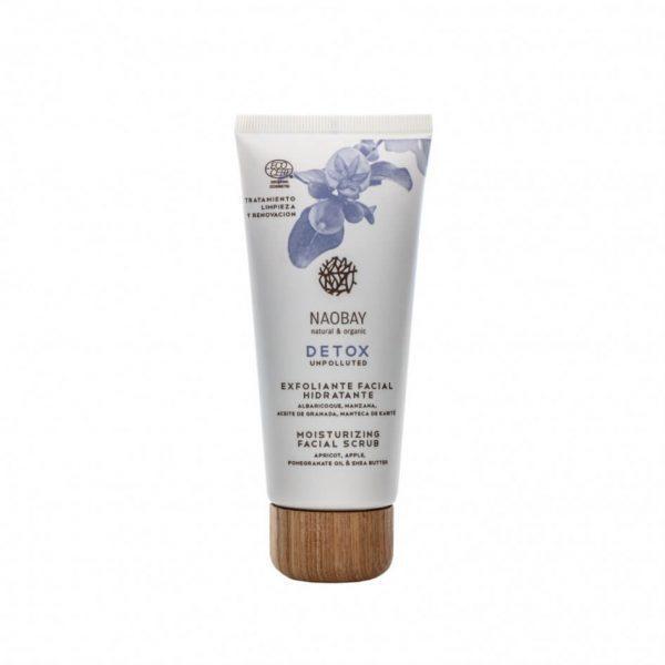 Scrub Facial Hidratant Detox Naobay, 100 ml imagine produs