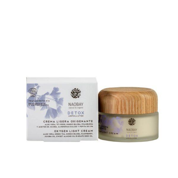 Crema Oxigenanta Light Detox Naobay, 50 ml esteto.ro