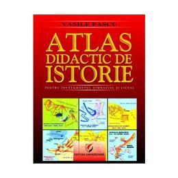 Atlas didactic de istorie. Editia 2 - Vasile Pascu, editura Universitara