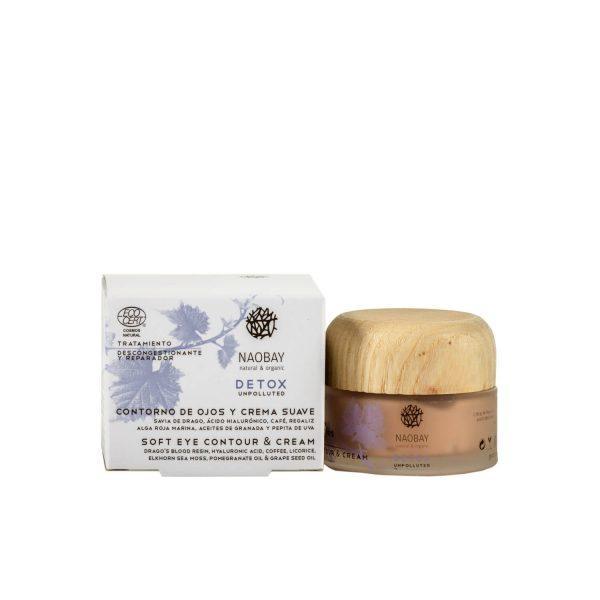 Crema Soft si Contur Ochi Detox Naobay, 30 ml