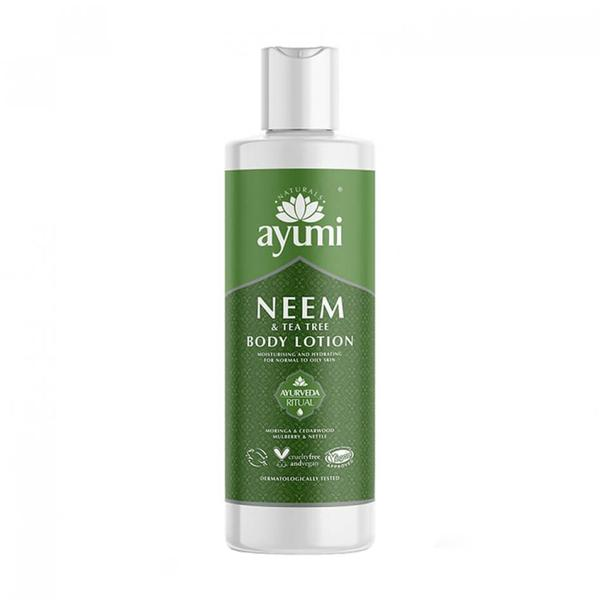 Lotiune de Corp cu Neem & Tea Tree Ayumi, 250ml poza