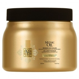 Masca Nutritiva pentru Par Normal si Fin - L'oreal Professionnel Mythic Oil Light Masque 500 ml