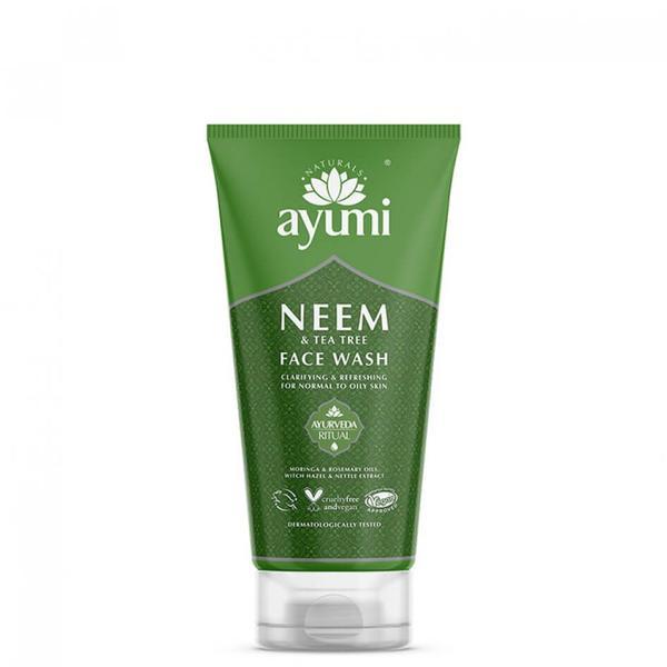 Gel de Curatare Faciala cu Neem & Tea Tree Ayumi, 150ml imagine produs