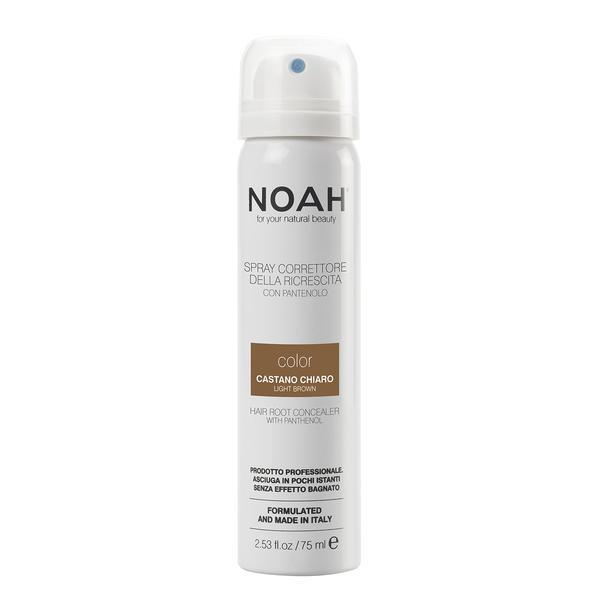 Spray Corector cu Vitamina B5 pentru Acoperirea Radacinii Parului Castaniu Deschis Noah, 75ml