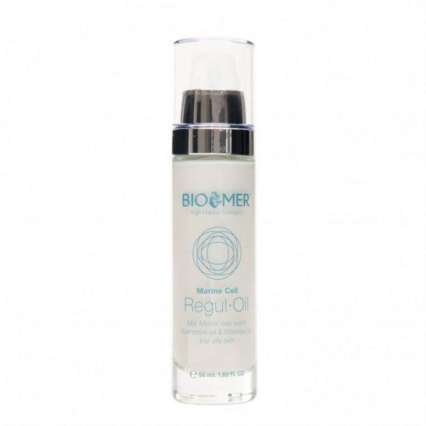 Crema Tratament cu Ulei de Moringa si Acid Hialuronic Marine Cell - Bio Mer 50 ml
