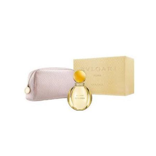Set Bvlgari Goldea, Eau de Parfum 90ml + Port-fard imagine produs