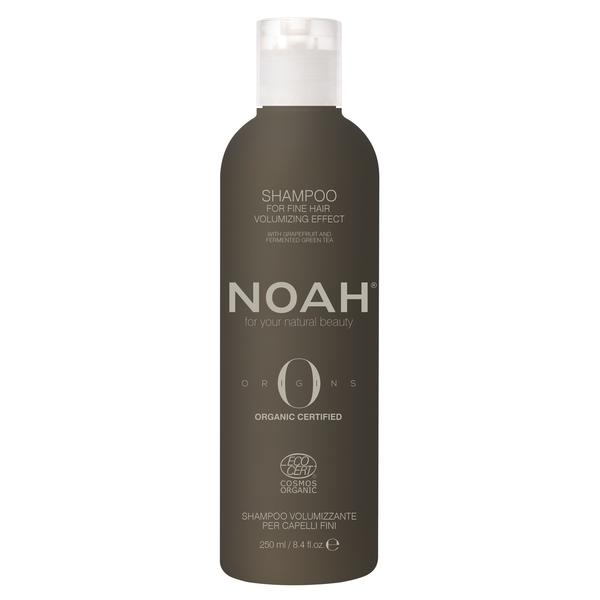 Sampon Bio Volumizant cu Extract de Grapefruit si Ceai Verde pentru Par Subtire Noah, 250ml