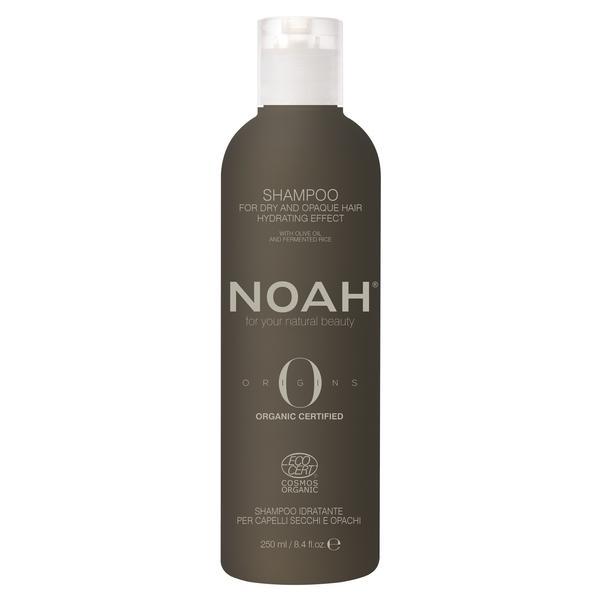 Sampon Bio Hidratant cu Ulei de Masline pentru Parul Uscat si Casant Noah, 250ml imagine
