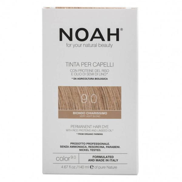 Vopsea de Par Naturala Blond Foarte Deschis 9.0 Noah imagine produs