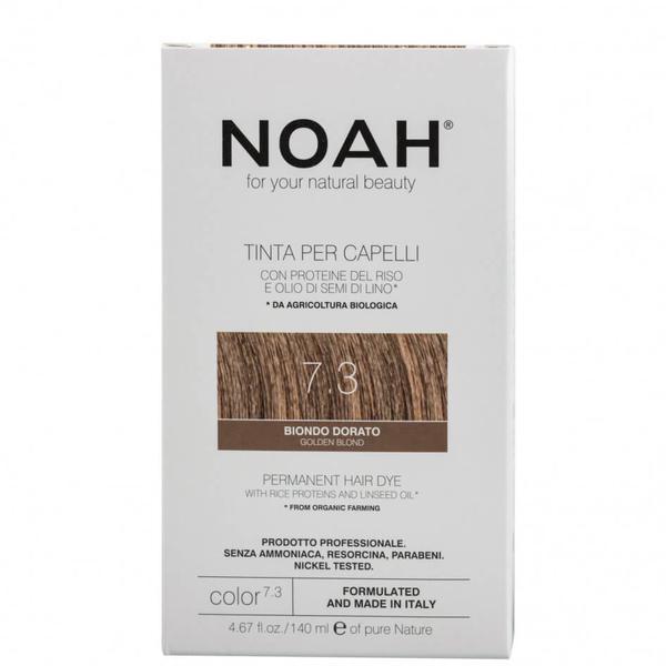 Vopsea de Par Naturala Blond Auriu 7.3 Noah imagine produs