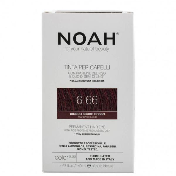 Vopsea de Par Naturala Blond Roscat Inchis 6.66 Noah imagine produs