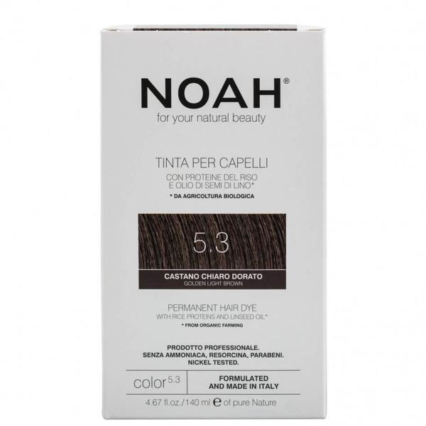 Vopsea de Par Naturala Saten Auriu Deschis 5.3 Noah imagine produs
