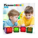 Set PicassoTiles Alfabet - 27 Piese Magnetice De Constructie Colorate