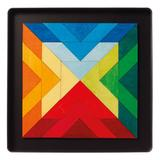Puzzle magnetic Square Indian - Grimms