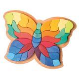 Fluturele Curcubeu - puzzle senzorial si creativ - Grimms