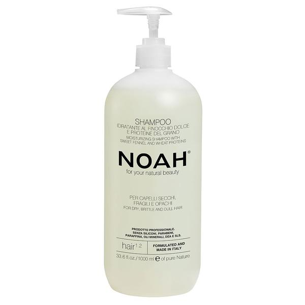 Sampon Natural Hidratant cu Fenicul pentru Par Uscat, Fragil si Lipsit de Stralucire 1.2 Noah, 1000ml imagine
