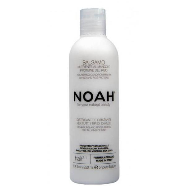 Balsam Natural Nutritiv si Hidratant cu Mango 2.1 Noah, 250ml imagine