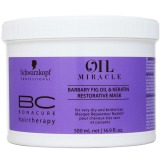 Masca Restructuranta - Schwarzkopf BC Oil Miracle Barbary Fig Oil Restorative Mask 500 ml