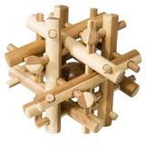 Joc logic IQ din lemn bambus Magic sticks - Fridolin