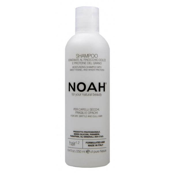 Sampon Natural Hidratant cu Fenicul pentru Par Uscat, Fragil si Lipsit de Stralucire 1.2 Noah, 250ml imagine