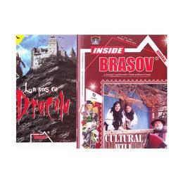 La pas cu Dracula + Revista Inside Brasov, editura Miracol