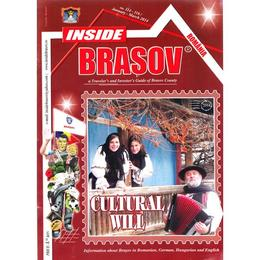 La pas cu Dracula (Lb. engleza) + Revista Inside Brasov, editura Miranda