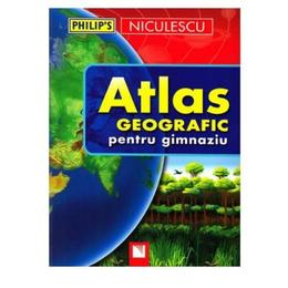 Atlas geografic pentru gimnaziu, editura Niculescu