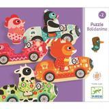 Puzzle interschimbabil Vehicule colorate
