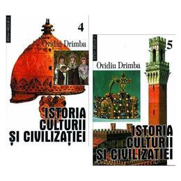 Istoria culturii si civilizatiei, vol. IV, V - Ovidiu Drimba, editura Saeculum I.o.