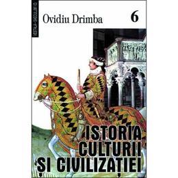 Istoria culturii si civilizatiei - Vol.VI, VII, VIII - Ovidiu Drimba, editura Saeculum I.o.
