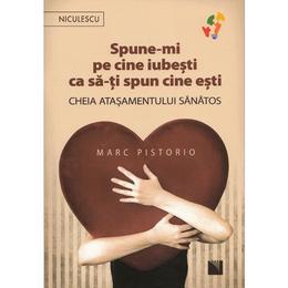 Spune-mi pe cine iubesti ca sa-ti spun cine esti - Marc Pistorio, editura Niculescu