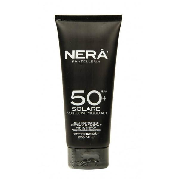 Crema pentru Protectie Solara Very High SPF 50 Nera, 200ml imagine produs
