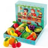 Jucarii educative  - set Fructe si legume - Djeco