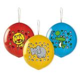 Set 3 baloane Punch Ball 45 cm - Happy Animals - Tomvalk