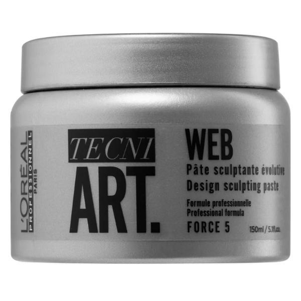 Pasta Modelatoare - L'Oreal Professionnel Tecni Art Web Design Sculpting Paste, 150ml imagine produs