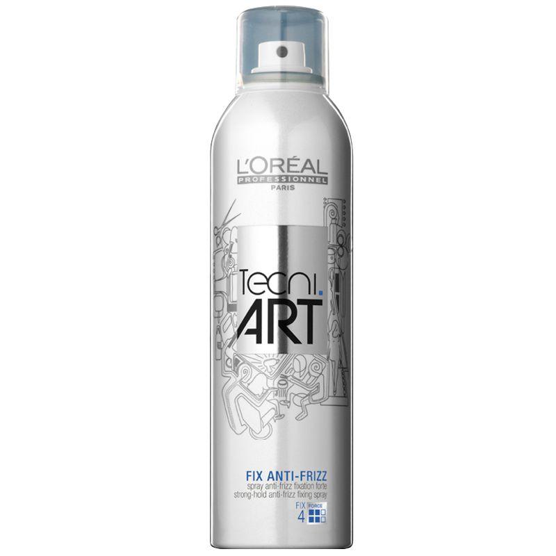 Fixativ Antistatic cu Fixare Forte - L'Oreal Professionnel Tecni Art Fix Anti-Frizz Hairspray 250 ml imagine produs