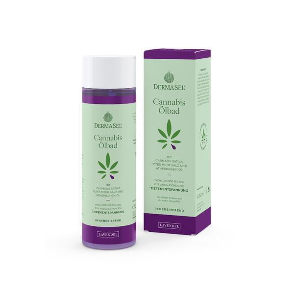 Ulei de baie cu ulei de cannabis si levantica Dermasel 250 ml imagine produs