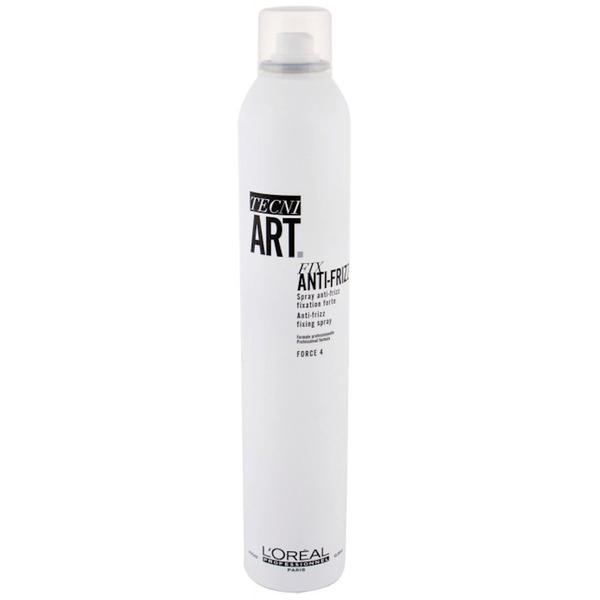 Fixativ Antistatic cu Fixare Forte - L'Oreal Professionnel Tecni Art Fix Anti-Frizz Hairspray 400 ml imagine